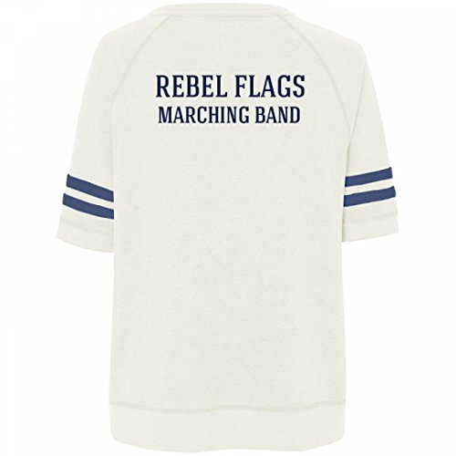 Rebel Flags Marching Band Member:Misses Relaxed Fit Vintage Sweatshirt