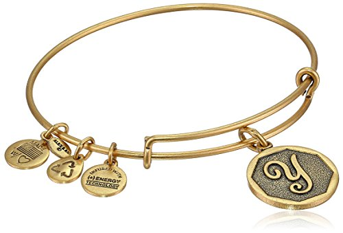 4. Alex and Ani Initial Expandable Wire Bangle Bracelet