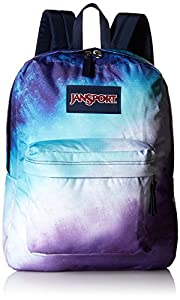 JanSport Mens Classic Mainstream High Stakes Backpack - Multi Water Ombre / 16.7H X 13W X 8.5D