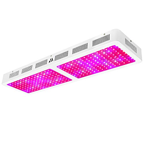 Led Grow Light 3000w, Dimgogo Full Spectrum Dual-Chip Growing Lamp for Hydroponic Indoor Plants Veg and Flower