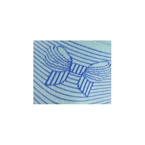 Chaussettes Courtes Motif Bleu Coton Achile En Nud Ciel wgpRdBwq