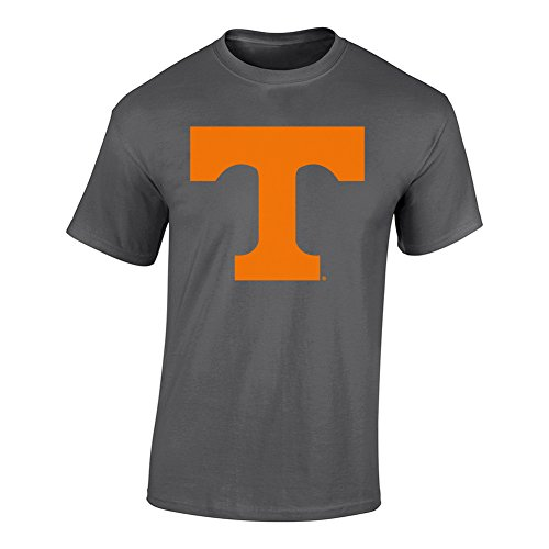 Elite Fan Shop NCAA Men's Tennessee Volunteers T Shirt Charcoal Icon Tennessee Volunteers Charcoal X - Volunteers Pack Tennessee Tee