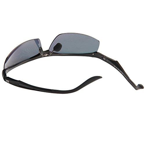 deSol rojos Calidad negro de Libre lentes Orange Jimmy Magnesio Aluminio Mujeres al de Conducción de Ciclismo JO671 Aire marco Polarizado Hombres Sol Gafas Alta Gafas BXZ4FZT