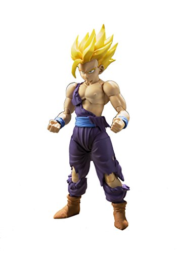 "Bandai Tamashii Nations S.H. Figuarts Super Saiyan Son Gohan ""Dragon Ball Z"" Action Figure"