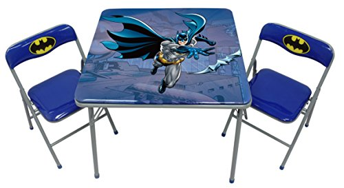 O'Kids Batman Metal Activity Table and Chair Set by O'Kids