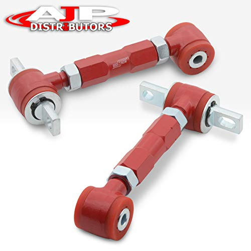 Bushing Camber (AJP Distributors Jdm Red Rear Camber Kit With Red Bushing For Integra/Civic/Crx/Del Sol)