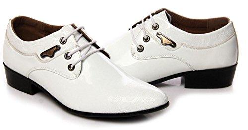 Negocios HYLM Impresiones white De Hombre Nuevo La Oxford Zapatos Banquete Zapatos Vestido Moda Zapatos Boda De qqtHAw4