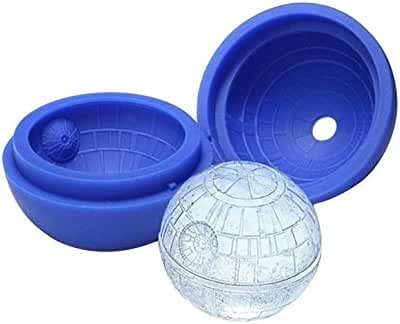 2-Pack of Star Wars Death Star Silicone Ice Molds