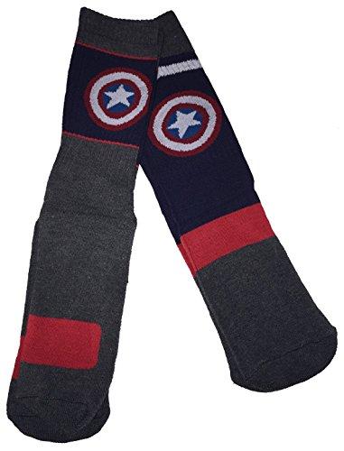 captain america basketball socks - 2