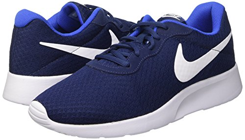 Amazon.com | Nike Mens Tanjun Running Sneaker (11 M US, Midnight Navy/White Game Royal) | Fashion Sneakers