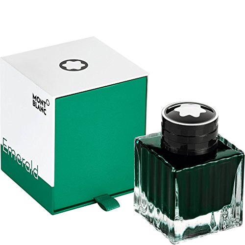 (Montblanc 2018 Color Of The Year Emerald Green Bottled Fountain Pen Ink 50 ML)