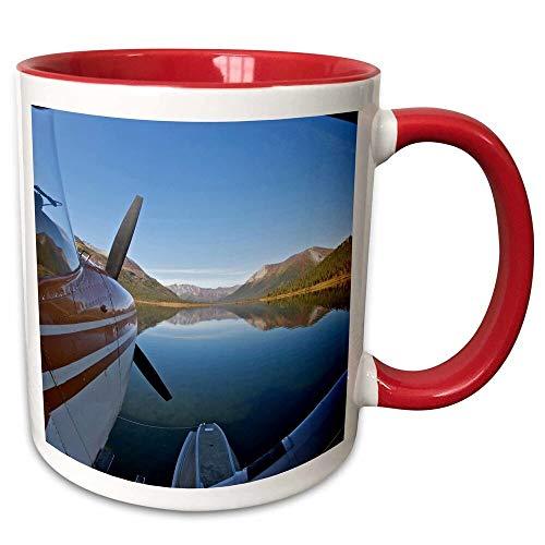 Symple Stuff Dillion Alaska, Arctic Np, Float Airplane, Lake Ernie Coffee Mug from Symple Stuff