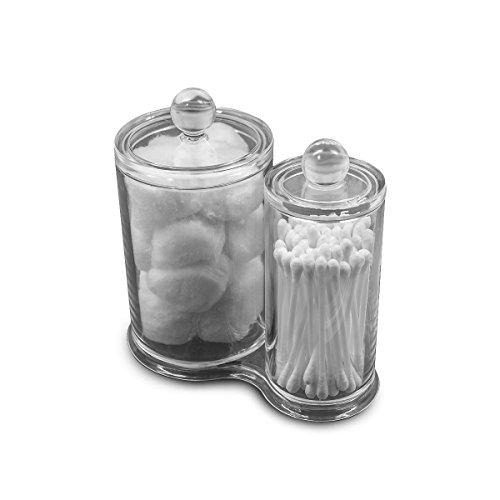 Sorbus%C2%AE Acrylic Cotton Ball Holder