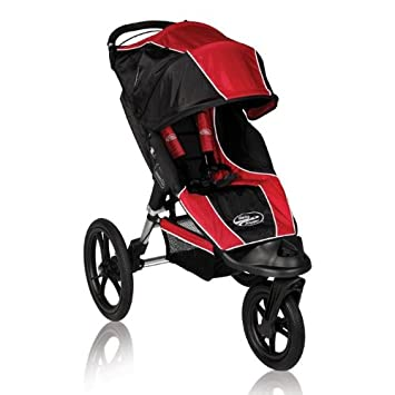Baby Jogger 2012 Summit Xc Single Stroller Red Black Discontinued By Manufacturer