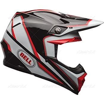 Bell Moto-9 Off Road Motorcycle Helmet (Spark Red/Black, XX-Large) (Non-Current Graphic)
