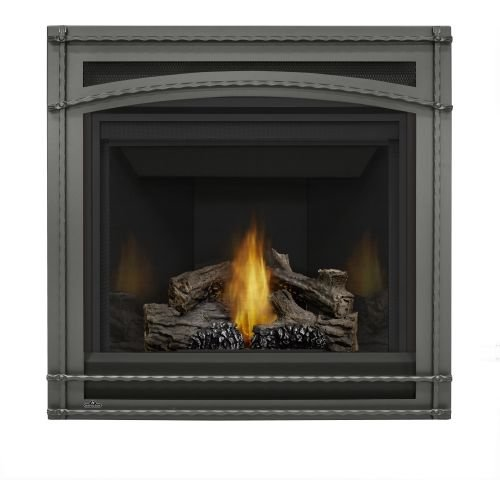Napoleon B35 Ascent MV Fireplace w/Porcelain Panels & Front - - Napoleon Porcelain Fireplace