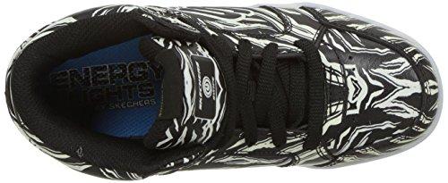 Skechers Energy Lights, Zapatillas Para Niños Negro (Black)