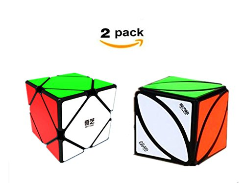 CuberSpeed Speedcubing Bundle QiYi Ivy Cube Black Magic cube Mofangge QiYi QiCheng Skewb Black Magic Cube