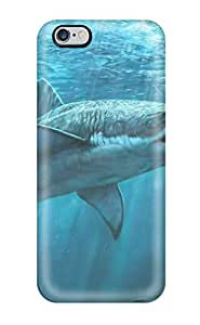 Tpu Case For Iphone 6 Plus With Shark Hunting Seals