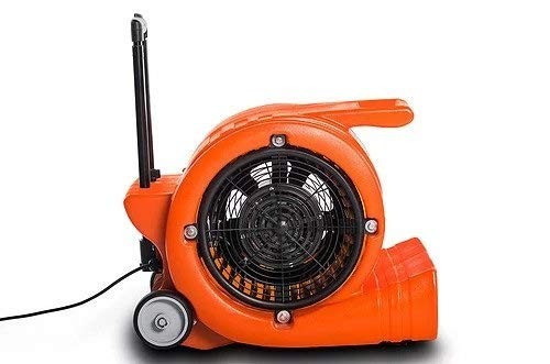 UltraClean Supply Air Mover Blower Floor Fan Carpet Dryer Industrial Commercial w/Handle & Wheels 5000CFM