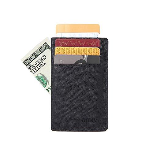 Genuine-Leather-Slim-Front-Pocket-Wallet-or-Card-Holder-for-Men-RFID-Blocking
