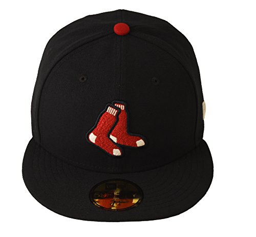 New Era 59FIFTY Boston Red Sox Navy MLB 2017 Authentic Collection On Field Alternate Cap Size 7 1/4 - Cap Alternate New Era