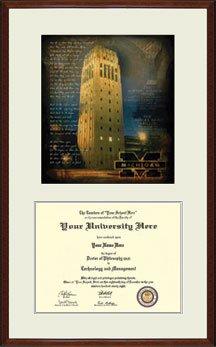 University of Michigan Wolverines Diploma Frame
