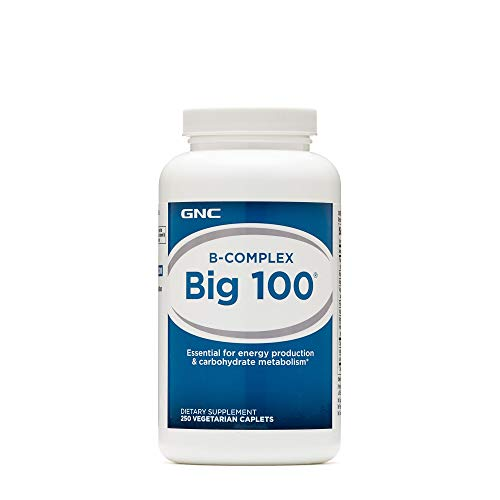 - GNC B-Complex Big 100 250 Vegetarian Caplets