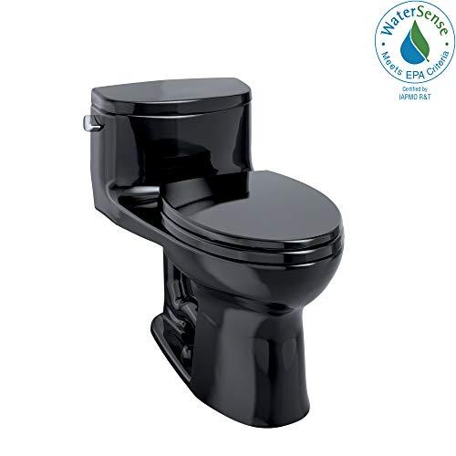 Toto MS634114CEF#51 Supreme-2 One-Piece High-Efficiency Toilet, 1.28GPF, Ebony
