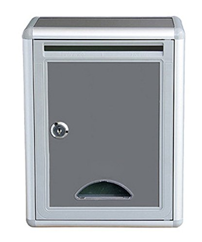 Fasmov Drop Box,Inter-Office Mailbox, 4 x 8.2x 11 (Plastic Suggestion Box)