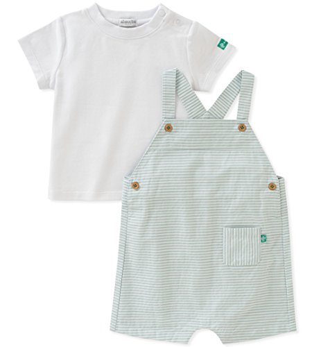 absorba Baby Shortall Set Boys, Green, 18M