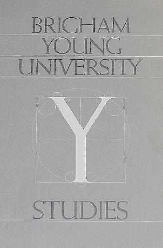 BYU Studies (Vol. 24, Spring 1984, #2)