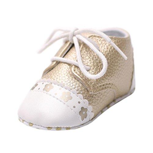 2003701a2 Barato Logobeing Zapatos de Bebe Niñas Pequeños Recién Nacido Primeros Pasos  Antideslizante Suela Blanda Zapatos de