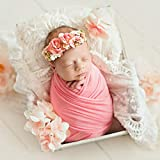50 150cm Newborn Photography Silky Scarf Wrap Child