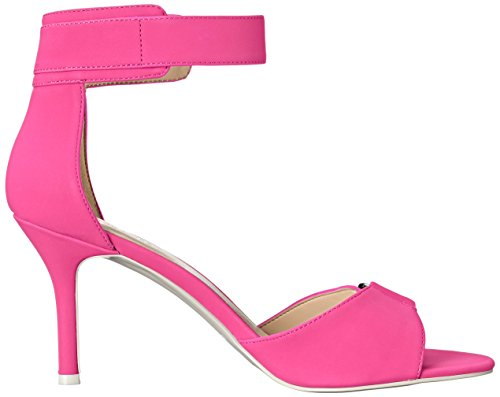 Nine West mujer sintético Gainey Heeled Sandal Pink