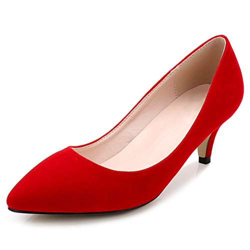 cuña con Sandalias Rojo fereshte Rojo mujer 7EBxq