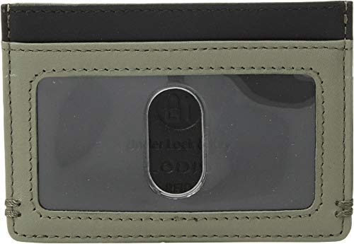 Lodis Accessories Men's Topanga RFID Mini ID Card Case Olive One Size