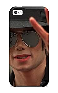 New Style Tpu 5c Protective Case Cover/ Iphone Case - Michael Jackson Sending Free Screen Protector