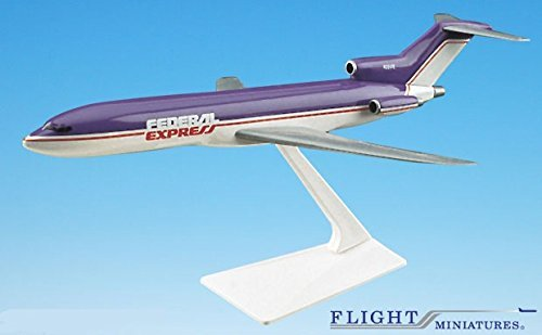 Federal Express  72 96  727 200 Airplane Miniature Model Plastic Snap Fit 1 200 Part  Abo 72720H 002