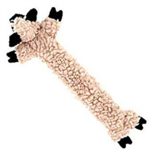 HuggleHounds Long and Lovely Barnyard Lambie Dog Toy – Large, My Pet Supplies