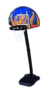 Spalding NBA Junior One on One - Canasta de baloncesto juvenil con poste
