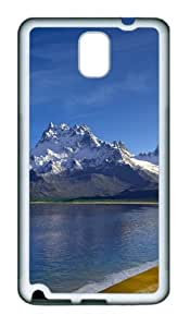 Lake Landscapes Custom Design TPU Silicone Case Cover for Samsung Galaxy Note 3 / Note III/ N9000 šC White