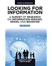 Looking for Information: A Survey of Research on Information Seeking, Needs, and Behavior