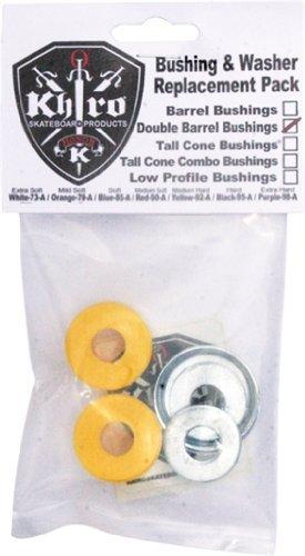 - Khiro Double Barrel Bushing/Wash Kit 92a M-Hard Yellow
