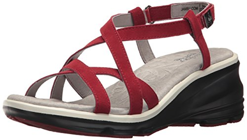 Wedge Wedge Ginger Ginger Jambu Wedge Red Ginger Jambu Red Jambu Women's Women's Women's qTfPOwx