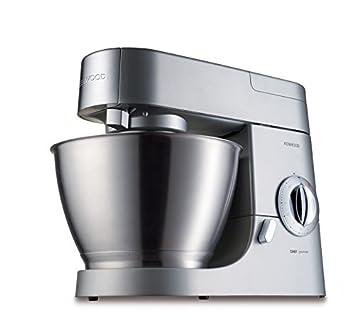 Kenwood KMC570 Chef Premier Stand Mixer - Silver  Amazon.co.uk ... 70ce037fbeb1