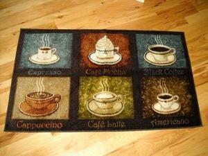 Gentil 6 Coffee Flavors Plush Kitchen Rug Cafe Decor Area Throw Rugs Cappuccino  Espresso Mocha Latte