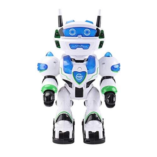 New launch MM&I Robotic For Toy Clever Programming Strolling Dancing LED Music Astronaut Robotic RC Toy For Child  Opinions