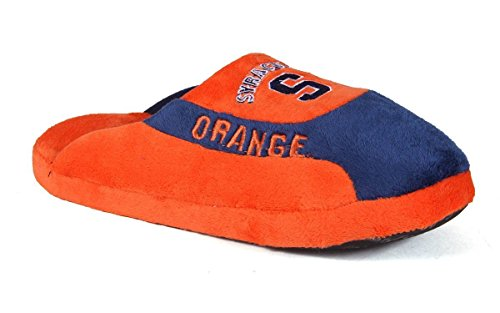 Womens Orange LICENSED Pro NCAA Happy Feet Mens and Slippers Low College OFFICIALLY Syracuse AqwtOT4t