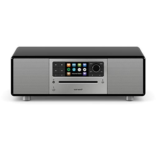 sonoro Prestige Compacte Stereosysteem met CD speler, Bluetooth en internetradio (FM, WLAN, DAB Plus, Spotify, Amazon…